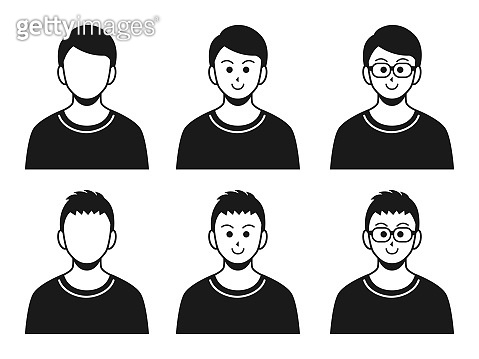 Illustration of men