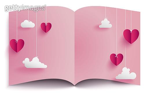 Valentine's Day conception background