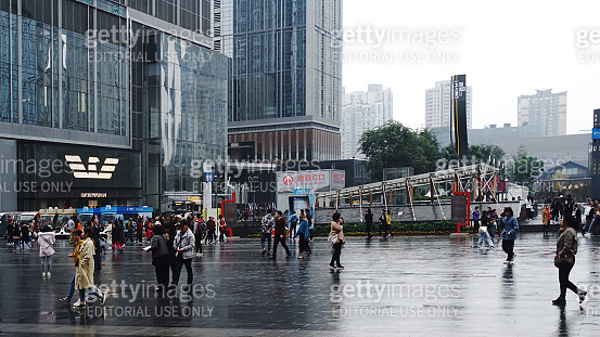 Chunxi Road is a pedestrianized shopping street in Chengdu, the capital of China's Sichuan Province.