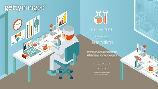 Isometric Medical Research Template
