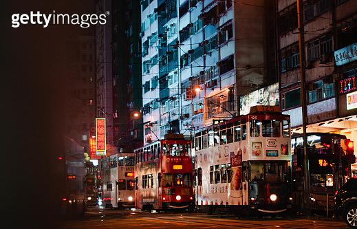 Trams in Hong Kong