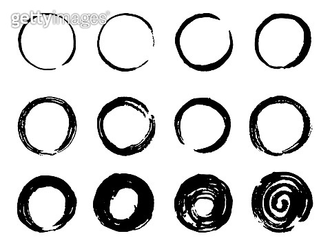 Brush circle set3