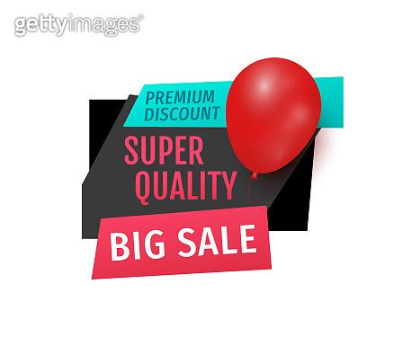 Premium Discount, Big Sale of Super Quality Banner