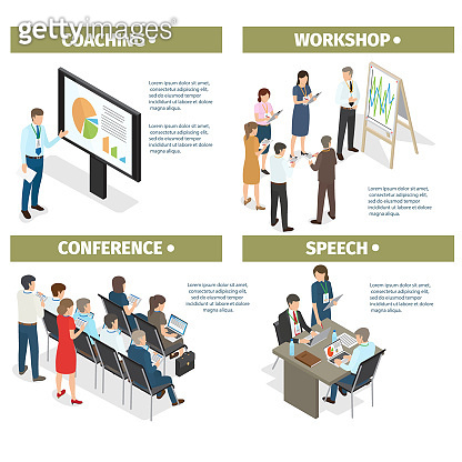 Coaching, Workshop, Conference and Speech Set