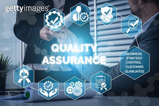 QA Quality Assurance and Quality Control Concept