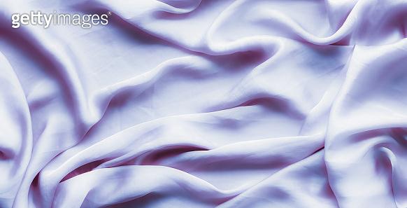 Purple soft silk texture, flatlay background