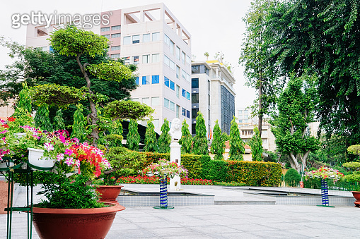 Park and Square in Ho Chi Minh city