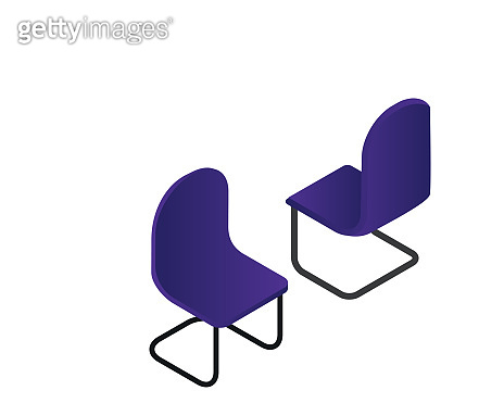 chair isometric creative illustration vector of graphic , chair isometric illustration vector , chair vector isometric illustration