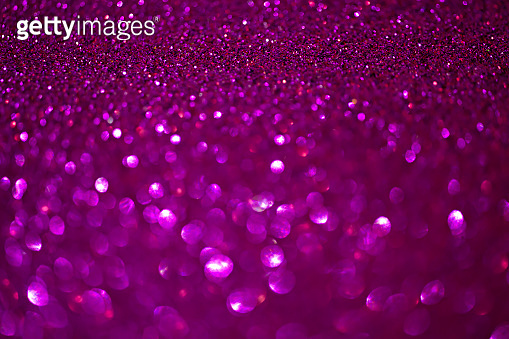 Purple background abstract beautiful blink light with bokeh background.