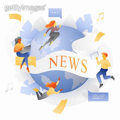 Global News Metaphor