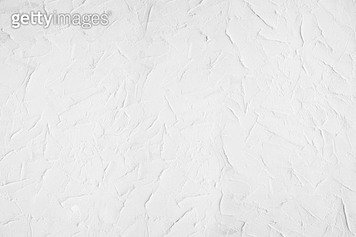 White concrete textured wall for background.