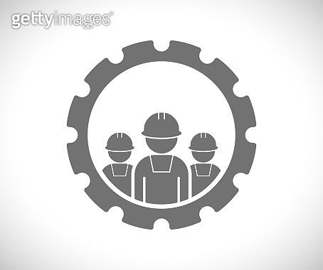 worker teamwork icon