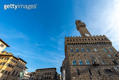 Piazza della Signoria - Palazzo Vecchio Florence italy