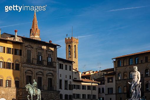Piazza della Signoria - Square in Florence Italy