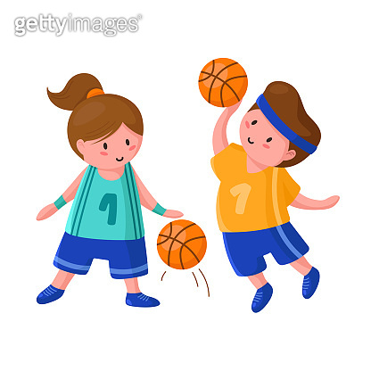 basketball player sport concept