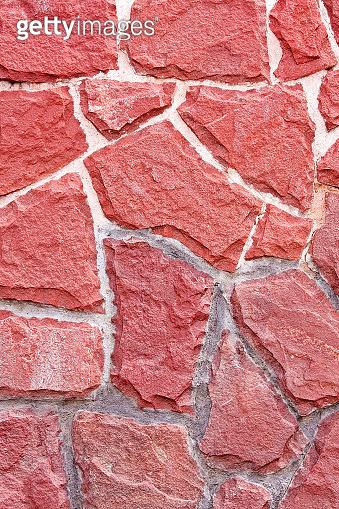 Red stones
