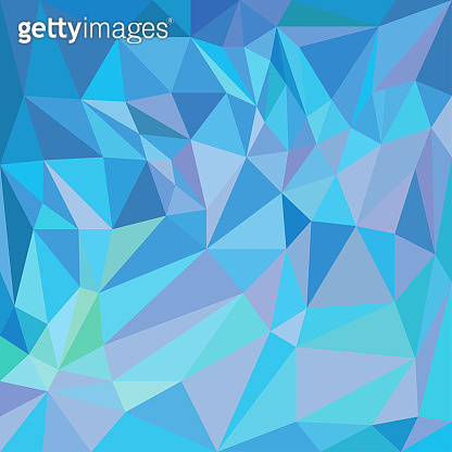 Blue graphic background. Ice pattern