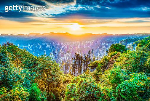 Landscape of Zhangjiajie