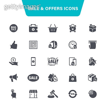 Sale and Offers Icons