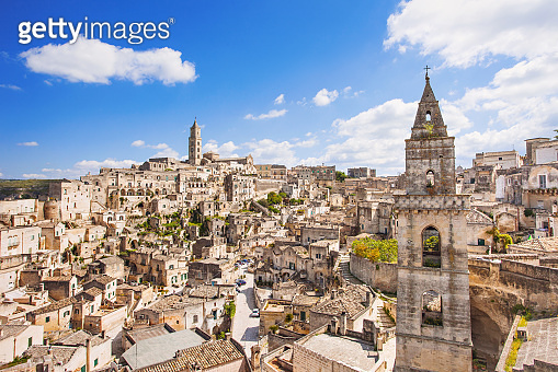 Matera town, Basilicata, Italy