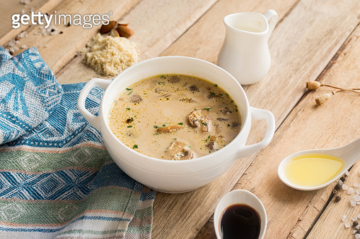 Mushroom soup homemade