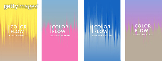 Abstract color covers
