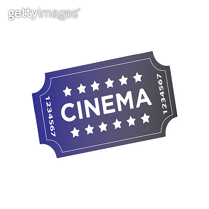 Film ticket sign