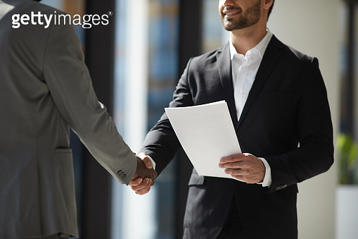 Getting collaboration agreement with new company