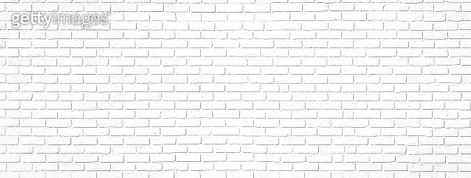 White brick interior wall