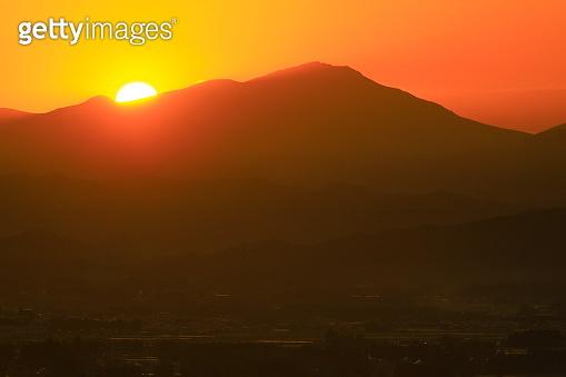 Morning sun Hayaike Mineyama