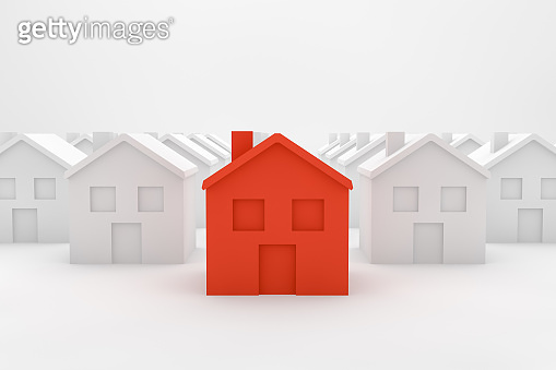 Real Estate Industry, Mortgage, New Home Concept