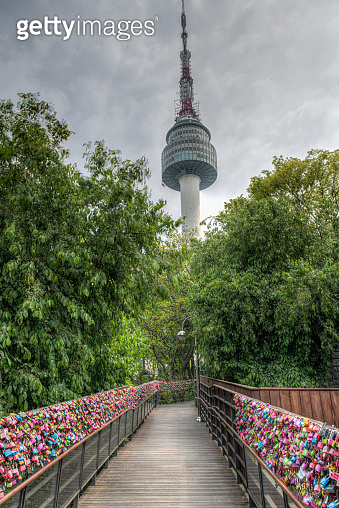 Namsan with the Seoul Tower