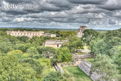 The Ruins of the Mayan city of Uxmal