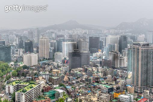 Seoul in Morning Art