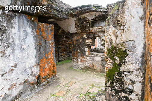 Palenque, an archaeological Mayan site in the Lowland Jungle of Chiapas