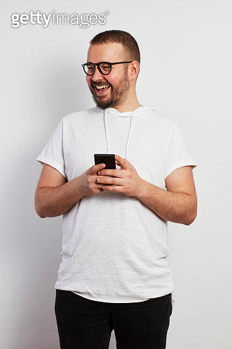 Online Chat Young Hipster Man
