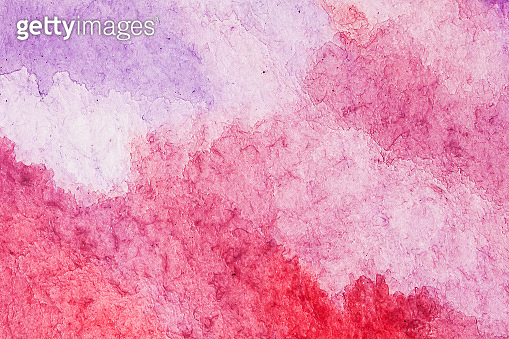 Pink and purple water color background