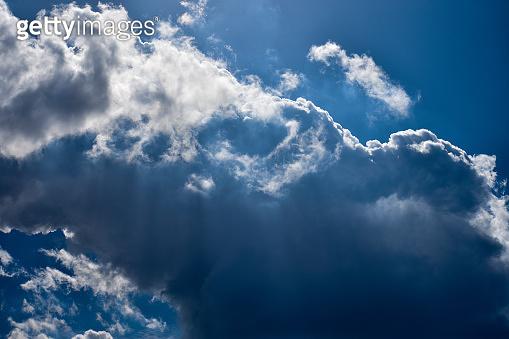 Blue sky and cloud
