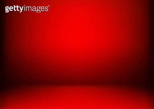 Luxury red abstract background. Christmas Valentines layout design,studio,room. Business report with smooth circle gradient color. Vector illustration