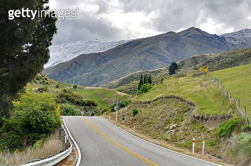 Scenic spots of Crown range Rd