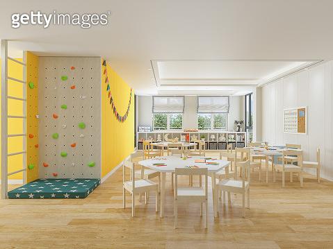 Classroom of kindergarten