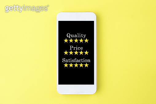 Quality, price and satisfaction of smart phone