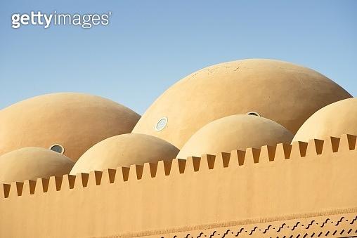 Domes of the Grand Mosque, Bur Dubai, Dubai, United Arab Emirates