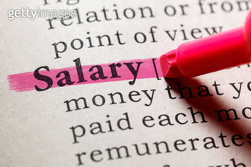definition of salary