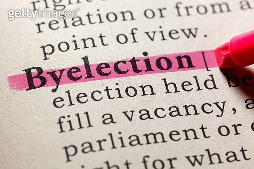 definition of byelection