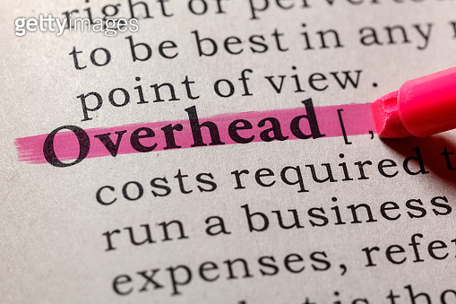definition of overhead