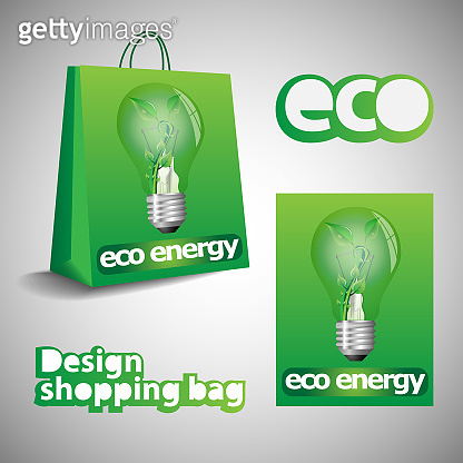 Eco Shopping Bag Design