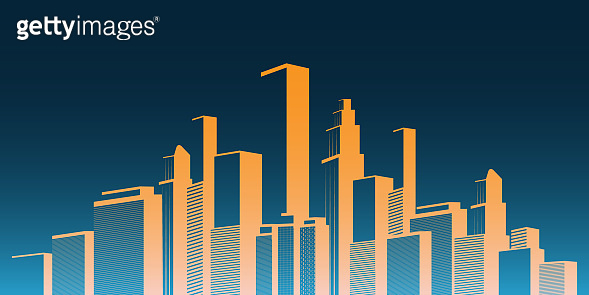 Metropolis - Abstract Urban Cityscape Concept