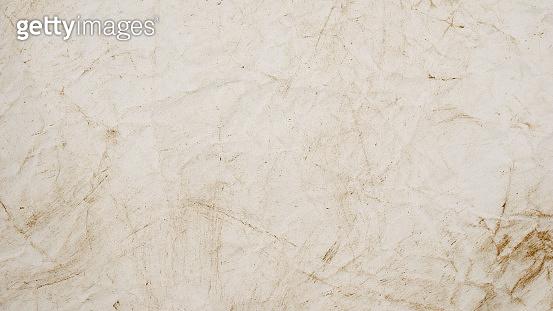 rough beige paper grunge background texture for design