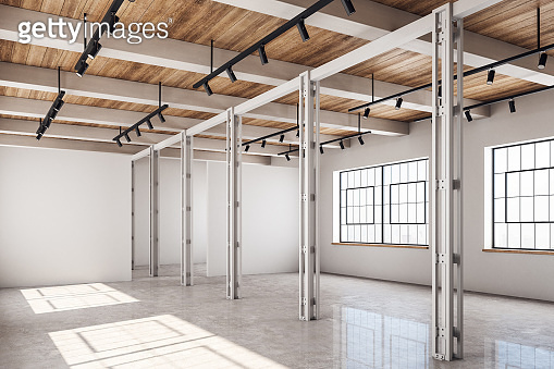 Clean warehouse interior